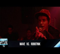 1ON1 Freestyle Battle 2014 - MAVE vs ROBOTNIK (Erfurt)