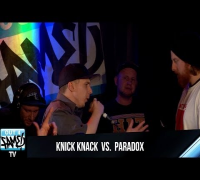 1ON1 Freestyle Battle 2014 - Paradox vs Knick Knack (Hannover)