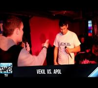 1ON1 Freestyle Battle 2014 - Vekil vs Apol (Stuttgart)