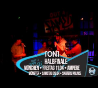 1ON1 Freestyle-Battle Halbfinale & Finale - Trailer