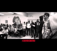 2 Chainz talks to Tanner Elementary in Chicago