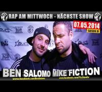 4 JAHRE RAP AM MITTWOCH   BMCL: NÄCHSTE SHOW AM 07.05.2014 - ANSAGE (VIDEOFLYER)