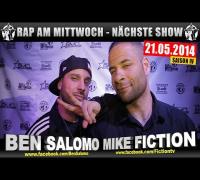 4 JAHRE RAP AM MITTWOCH   BMCL: NÄCHSTE SHOW AM 21.05.2014 - ANSAGE (VIDEOFLYER)