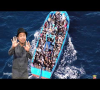 400 Flüchtlinge ertrinken im Mittelmeer.Blumio: Rap da News! - Episode 121