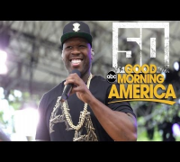 50 Cent @ Good Morning America (w/ Trey Songz & Joe)