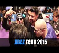 ABAZ mit Culcha Candela beim ECHO 2015 in Berlin: Banger Musik, Farid Bang, Kool Savas, Kollegah