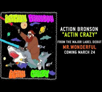 Action Bronson - Actin Crazy (Produced by 40 and Omen)