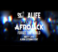 "Afrojack ALIFE ""Forget The World"" Listening Event (May 1st, 2014)"