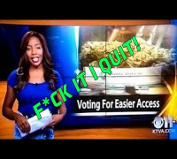 Alaskan Reporter Drops F-Bomb On-Air & Quits! Over Marijuana Vote!