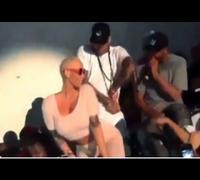 Amber Rose Twerks For Chris Brown In A Los Angeles Club!  (VIDEO)