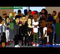 Another Kendrick Lamar Vs  Drake Rap Battle! Cartoon Comedy