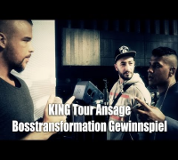 Ansage zur KING Tour - Gästelistenplätze, Meet 'n Greet Bosstransformation