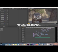 Apply LUTs in Adobe SpeedGrade  - Tutorial