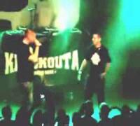 Aquila mit UNBEATABLE MUSIC Shirt bei Silla Konzert München [Handyvideo LQ]