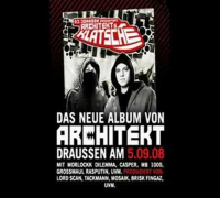 """Architekt - """"Klatsche"""" SNIPPET"""