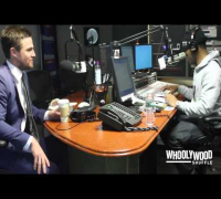 ARROW star STEPHEN AMELL vs DJ WHOO KID on the WHOOLYWOOD SHUFFLE