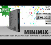 ATZEN MUSIK VOL.3 Album Teaser MiniMix Snippet