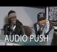 Audio Push Talks About Ready to Drop Album, Wale as a Feature, and More