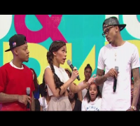 "AUGUST ALSINA LASHES OUT DURING ""106 & PARK"" INTERVIEW   MILEY HOSPITALIZED! - ADD Present: The Drop"