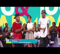 August Alsina Shuts Down Trey Songz Question on '106 & Park'