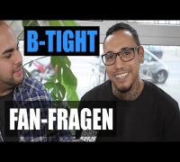 B-TIGHT FAN FRAGEN: Farid Bang, Fler, Shindy, Bushido, Majoe, Sido, JBB, Automatikk, Eko, Credibil