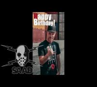 Baba Saad Geburtstags-DISS von McTwist!!!