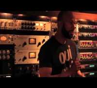 ▶Behind the Scenes Blaqstarr Ft Common In the studio