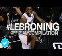 Best Lebroning Compilation 2014 (Funny)