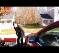 Bipolar Woman Scratching Up Her Ex's Car After Getting Called Out For Being A Hoe!