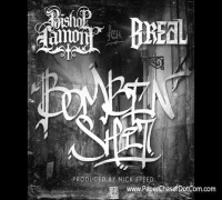 Bishop Lamont Ft. B-Real Of Cypress Hill - Bombin' Shit (Prod. @NickSpeedEnt) 2014 New CDQ Dirty