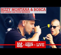 BIZZY MONTANA & BOSCA - WIR LASSEN DAS FEUER BRENNEN - LIVE at the Out4Fame Festival 2014 - RAP4AID