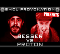 BMCL MEETS DLTLLY PROVOKATION: BESSER VS PROTON | AM 25.04.2015 BEI DER HIPHOP CON - LIVE (ANSAGE)