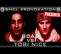 BMCL PROVOKATION: BDAD VS TOBI NICE | AM 04.02.2015 - LIVE (ANSAGE)