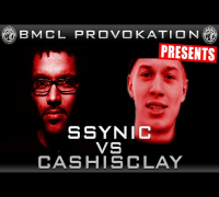 BMCL PROVOKATION: SSYNIC VS CASHISCLAY | AM 15.04.2015 - LIVE (ANSAGE)