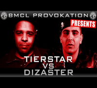BMCL PROVOKATION: TIERSTAR VS DIZASTER | AM 06.05.2015 LIVE - powered by audio-technica