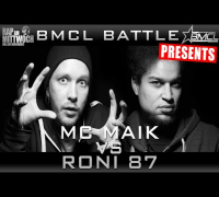 BMCL RAP BATTLE: MC MAIK VS RONI 87 (BATTLEMANIA CHAMPIONSLEAGUE)