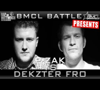 BMCL RAP BATTLE: P-ZAK VS DEKZTER FRO (BATTLEMANIA CHAMPIONSLEAGUE)