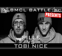 BMCL RAP BATTLE: PILLE VS TOBI NICE | SPECIAL GUEST EKO FRESH (BATTLEMANIA CHAMPIONSLEAGUE)