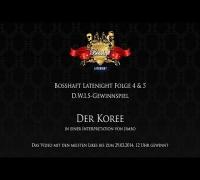 Bosshaft Latenight - D.W.I.S LYRIK LOUNGE Gewinnspiel - Der Koree