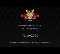 Bosshaft Latenight - KILLA Gewinnspiel - Klimmzüge mit einem Finger