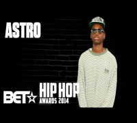 Brooklyn New York's Astro Steps On The Bet Hip Hop Awards 2014 Red Carpet