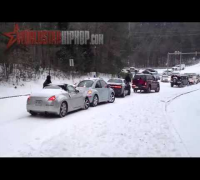 Car Accident Compilation (This Is What Happens When It Snows In Atlanta, GA)