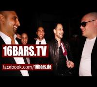 """Celo & Abdi, Moritz Bleibtreu, SSIO & Veysel beim Videodreh zu """"Nur noch 60 Sekunden"""" (16BARS.TV)"""