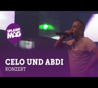 Celo und Abdi live auf der Desperados Aruba Stage