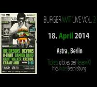 DAMION DAVIS - BURGERAMT LIVE VOL. 2 - 18.04.2014 - ASTRA BERLIN