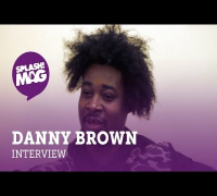 Danny Brown on Jhene Aiko, Kanye West and UK Bass Music UK (splash! Mag TV)