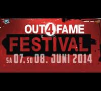 Das Out4Fame Festival vom 7. bis zum 8. Juni 2014 in Hünxe/Bottrop