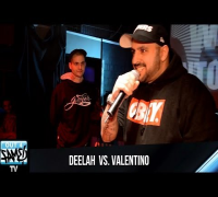 Deelah vs Valentino - 1ON1 Freestyle-Battle Halbfinale-Nord 2014