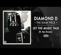 Diamond D - Let The Music Talk ft. Kev Brown (Audio)