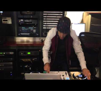 DJ VICE caught mixing at SIRIUSXM's  BETA BPM by DJ WHOO KID